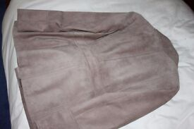 M & S Suede jacket size 18 petite. worn once so in excellent condition.