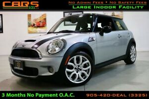2008 MINI COOPER S Turbo| 6 Spd Manual| Well Maintained|