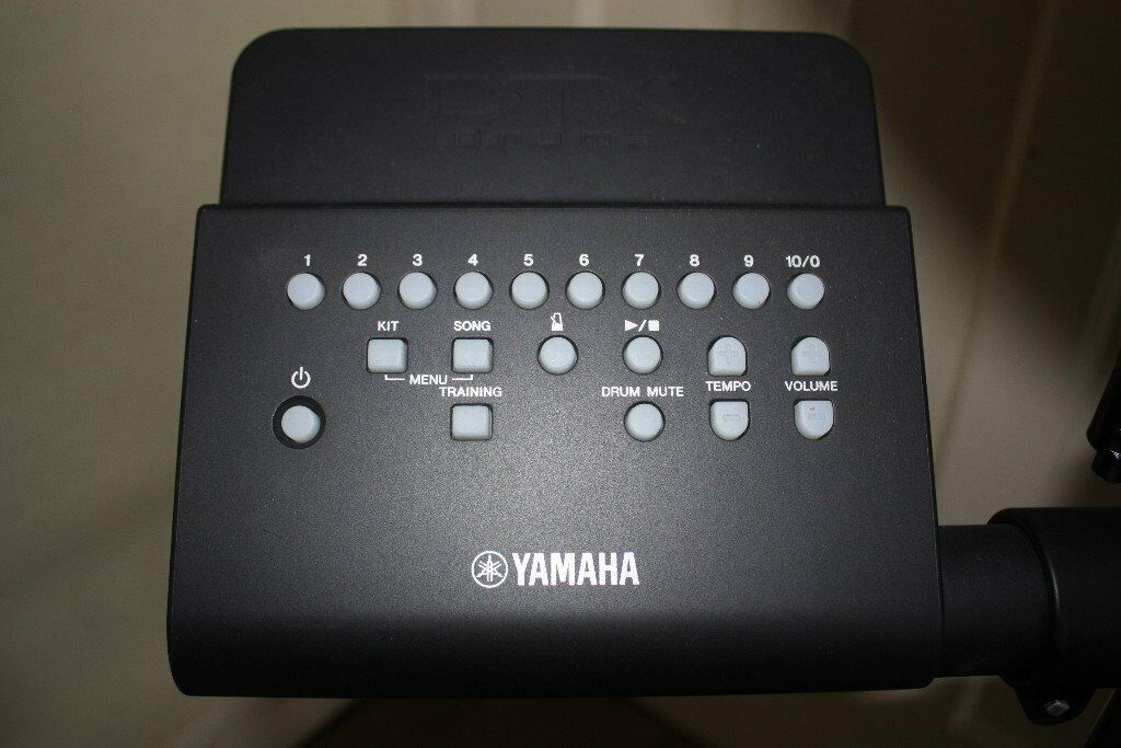 Yamaha DTX430K Electronic Drum Kit complete with Manual, Sticks and Stool |  in Ealing, London | Gumtree