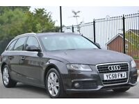 2008 (58) AUDI A4 2.0 TDI AVANT - B8 NEW SHAPE - DRLs, 6 SPEED FSH. STUNNING DIESEL ESTATE