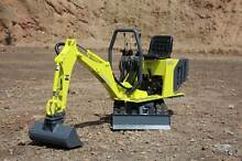 POWERSHOVEL E1600 Diesel Mini Excavator Burnie Burnie Area Preview
