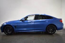 BMW 4 SERIES 2.0 420D XDRIVE M SPORT GRAN COUPE 4d AUTO 188 BHP (blue) 2016