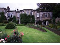 West Fife. Wing of country house nr. Dunfermline. Lovely property, fantastic garden free. Quiet
