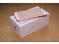 iPhone SE 64gb Rose Gold brand new in box unlocked