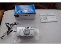 Minolta zoom 160c camera