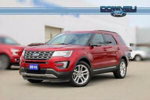 2016 Ford Explorer XLT Leather interior - Touch display - Panora