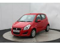Suzuki Splash SZ2 (red) 2014-05-06
