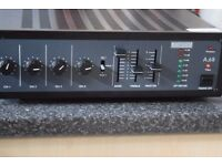ADASTRA A-68 AMP 4 CHANNELS 2 MIC IN 100W/70W CAN BE SEEN WORKING