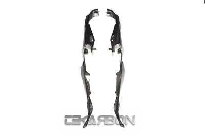2015 - 2018 BMW S1000XR Carbon Fiber Rear Tail Side Panels Covers - 2x2 twill