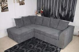 EXPRESS DELIVERYHigh quality Byron 3 + 2 JUMBO CORD sofa in unbelievable price / available in corner