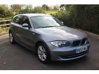 FROM £30 PER WEEK 2007 BMW 116 SE 5DR HACTHBACK PETROL MANUAL BLUE LOW MILES FULL SERVICE HISTORY