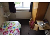 Student Room £72 pw INCLUDING bills: Friendly Halls of Residence on Hull Road