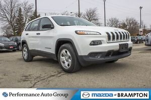 2015 Jeep Cherokee Sport|REAR CAM|UCONNECT|KEYLESS