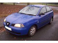 Seat ibiza 1.2 2003 5 door hatchback excellent runner