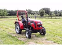 Foton 254R – 4WD 28HP Compact Tractor - 645 Hours Use - Ag Tyres
