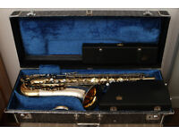 King Super 20 Silver Sonic tenor saxophone, near MINT! Extremely rare!