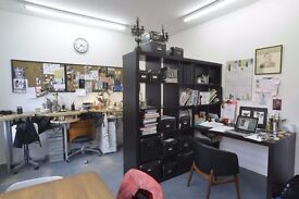 200 sq ft self contained Studio/Office Available NOW - Aircon - 1 min walk to Haggerston Overground