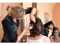 Wedding hair specialist, professional stylist.
