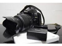 Nikon D5000 plus Nikon VR Lens