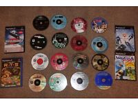 PS 2 with 20 games