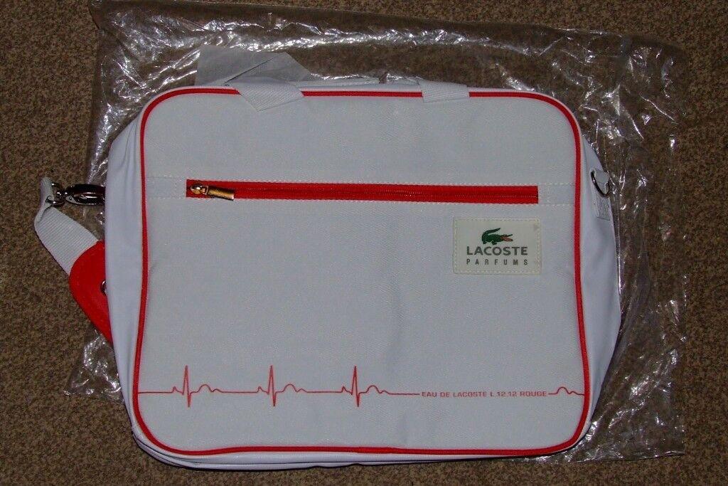 LACOSTE Parfum Laptop Bag Briefcase  Shoulder Bag  HOLDALL BAG. 00be63fcd6020
