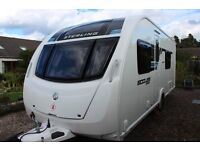 2012 Sterling Eccles Sport 554 SR 4 Berth Caravan exceptional condition dealer serviced from new