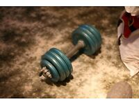 Body Sculpture Dumbell with 14 kg weights