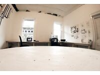Studio Desk Space for Rent on Argyle Street