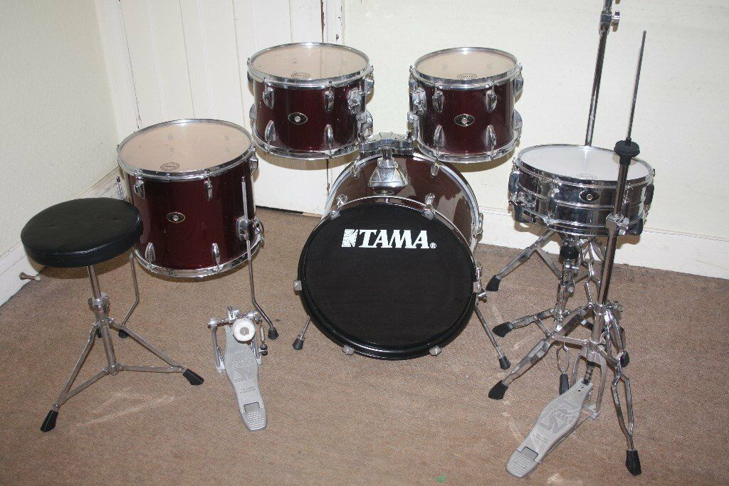 Tama Red Drum Set Corporateleadership