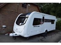 ** NEW PRICE ** Stirling Eccles Jewel SR 2011 Fixed Bed 4 berth , Single Axle ,End Bedroom Tourer