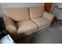 Sofa bed settee. 3 Seater