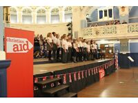 VOLUNTEER STEWARDS needed for Christian Aid's Big Christmas Sing 2016!
