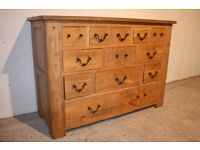 Solid oak sideboard for refurb / upstyling / Repainting. FREE DELIVERY IN BELFAST!