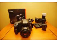 α77 II A-mount Camera with APS-C sensor
