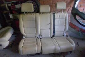 vw tiguan cream leather seats