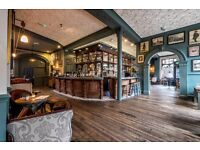 BAR STAFF IMMEDIATE START - FLEXIBLE HOURS - £7.20 + SERVICE - KENTISH TOWN