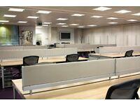 50 desks available now for £1200.00 per desk per month