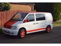 Mercedes vito 112 , Surf Van ,Day Van ,Campervan 6 seater ,like T4,T5