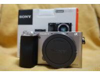 Sony Alpha A6000 24.3MP Camera (Body Only) - Still under warranty