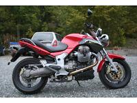 MOTO GUZZI BREVA 1100 2005 RED
