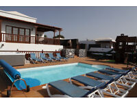 Luxury Villa VL43 in Lanzarote Playa Blanca 5 Beds Sleeps 12 Panoramic Sea Views Hot Tub Play Area