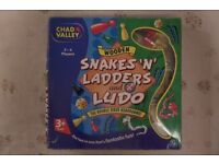 SNAKES AND LADDERS & LUDO