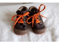 Starrite Leather Baby Boy Toddler Boots Shoes UK 4.5 G European 21G Good Condition 9 to 12 months