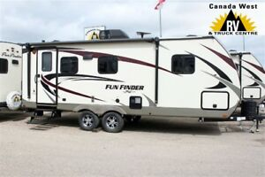 2018 Cruiser RV FUN FINDER 21RB Great Getaway Couples Trailer