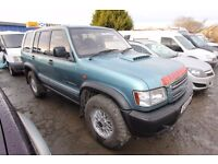 ISUZU TROOPER DUTY 3.0 LWB – 02-REG
