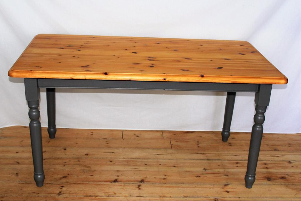 Pine Table Painted Grey