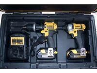 Dewault 14.4V Combi Drill & Impact Driver