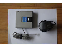 Linksys voice gateway VOIP Adapter