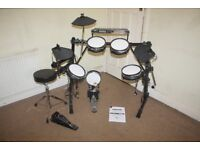 Alesis DM5 PRO Electronic Drum Kit complete with Owner Manual, Stool and Headphones and Drum Sticks