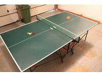 Table Tennis Table - foldable